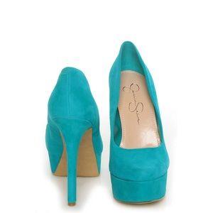 Jessica Simpson | platform heels